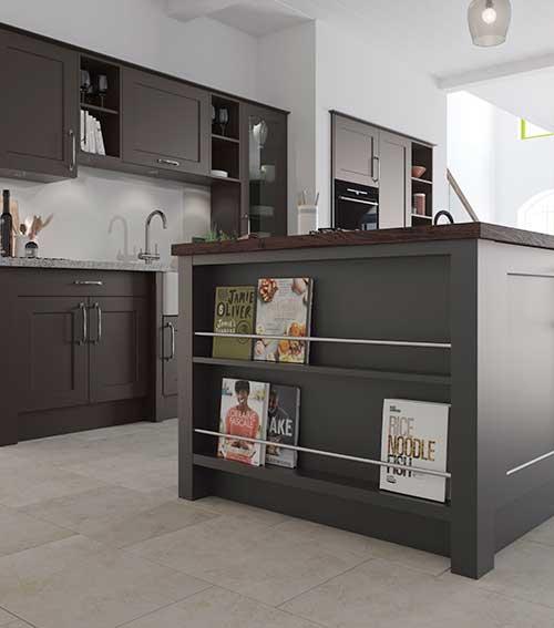 Feature Kitchen Book End Unit