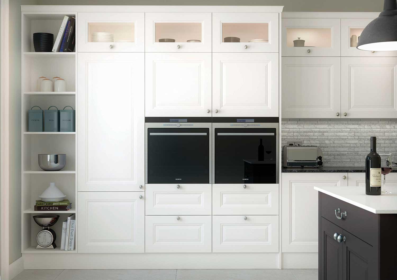 Glazed kitchen Wall Units