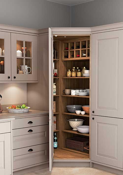 Carnegie stone grey heritage shaker kitchen