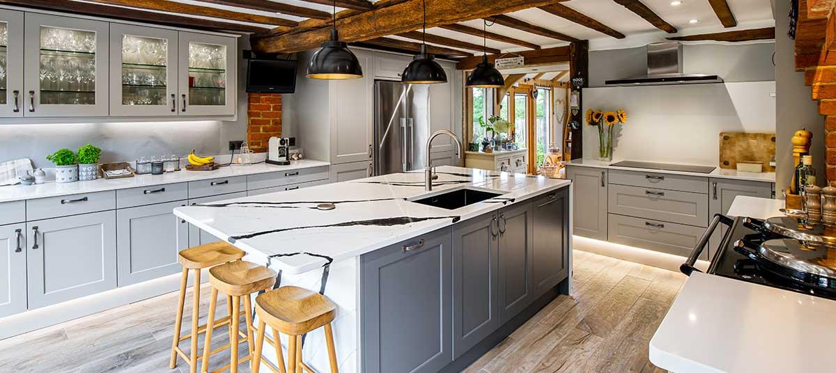 Bespoke kitchen design Reigate
