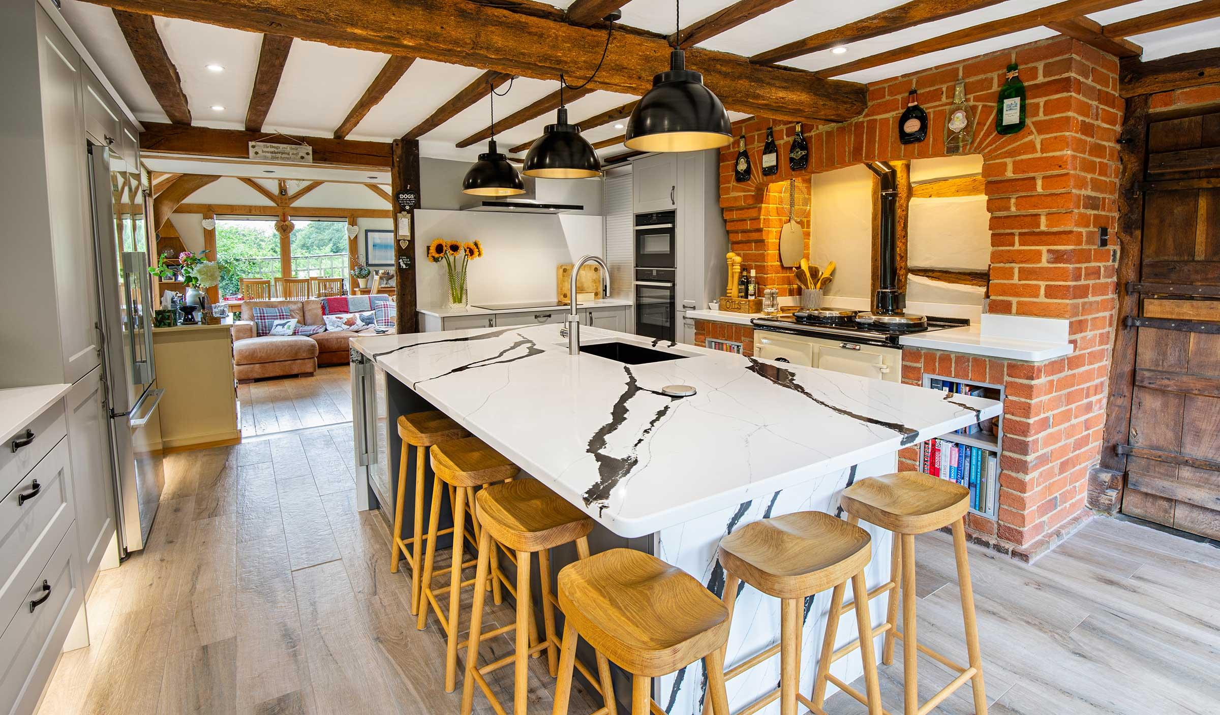 Modern Kitchen Design Banstead